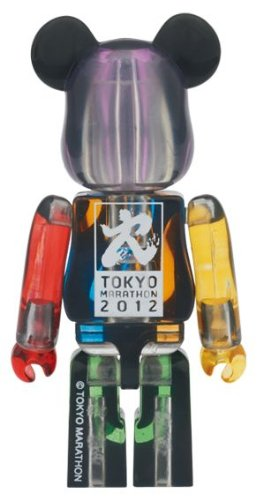 BE@RBRICK 東京マラソン2012 ベアブリック 100%