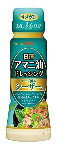 日清オイリオ 日清アマニ油ドレッシング チーズ薫るシーザー 160ml