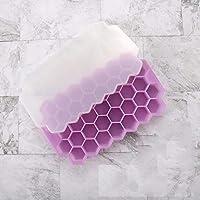 ウイスキーアイスキューブトレイシリコンキューブメーカー使用BPA無料キャンディプリンゼリージュースチョコレート (Color : D)