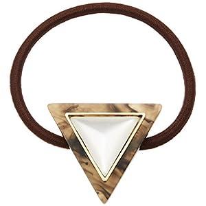 [ミルブラン] Milleblanc 三角形アクリルヘアゴムKH TM37H2AN-185KH