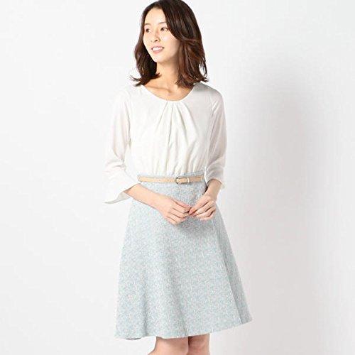 ミューズ リファインド クローズ(MEW'S REFINED CLOTHES) ツイードドッキングワンピース