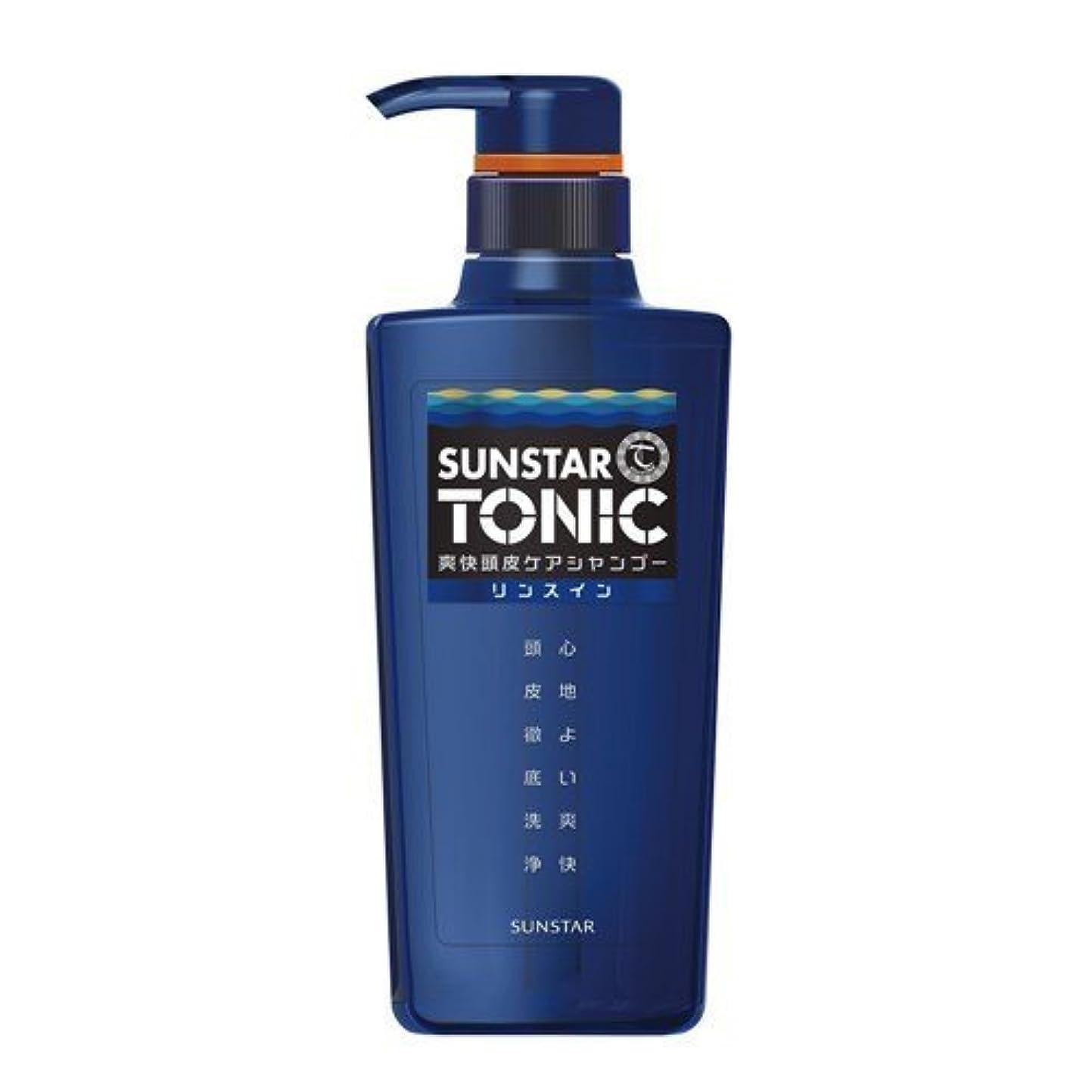 制裁保守的誘惑SUNSTAR TONIC(サンスタートニック) リンスイン 爽快頭皮ケア ノンシリコン処方 [シトラスハーブの香り] 460mL