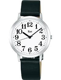 [セイコー]SEIKO 腕時計 RIKIWATANABE リキワタナベ カーブ無機ガラス 日常生活用防水 クオーツ 牛皮革 (カーフ) AKPK401 メンズ