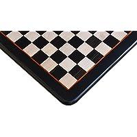 ノーブランド チェス盤 黒檀×柘植 45cm 45mm