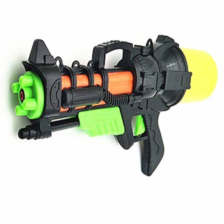 Meet now 新しい子供の水鉄砲のおもちゃ、空気圧水鉄砲、漂流水泳用水の水のおもちゃ、親子相互作用、夏の 品質保証 ( Color : Black , Size : M )
