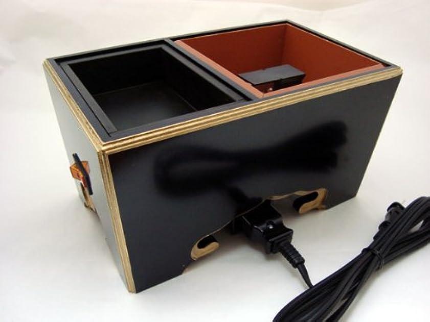 染色セレナアカウント電気式焼香用角香炉