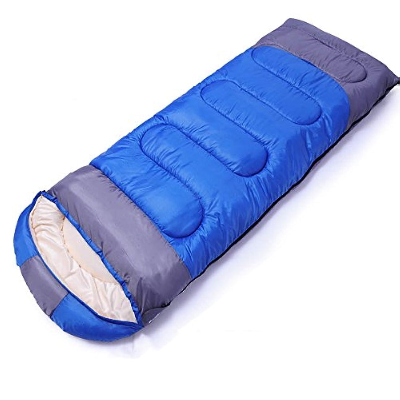 億必要としている優しさLJHA shuidai 寝袋冬の室内の厚い単一の寝袋大人の屋外旅行キャンプ寝袋 (色 : B)