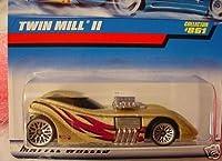 Mattel Hot Wheels 1998 1:64 Scale Gold Twin Mill II Die Cast Car Collector #861