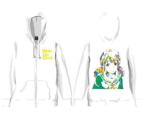 片山実波 193t×WUG! YUNOデザインモデル パーカー ホワイト S