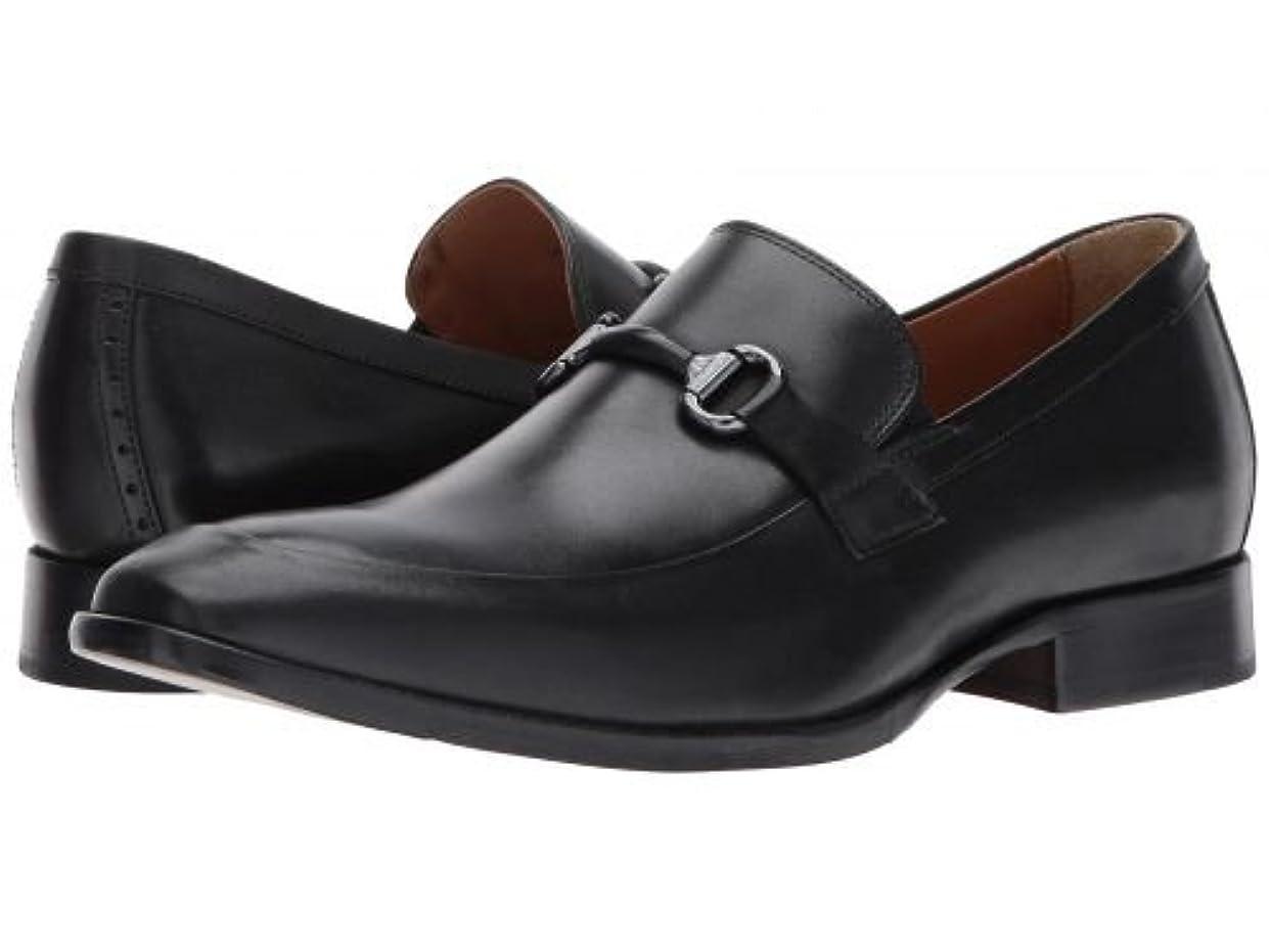 重要調整する無声でJohnston & Murphy(ジョーンストンアンドマーフィー) メンズ 男性用 シューズ 靴 ローファー McClain Bit - Black Full Grain [並行輸入品]