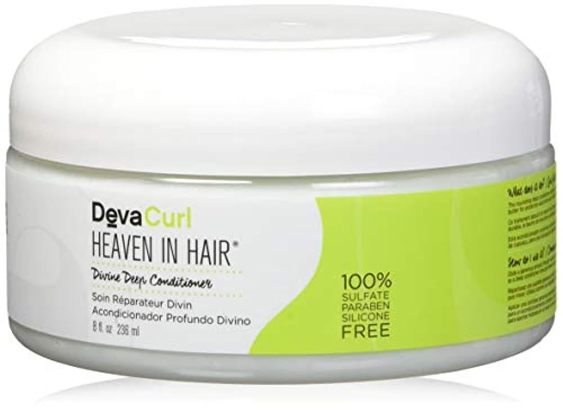信じる小麦歯車デヴァ Heaven In Hair (Intense Moisture Treatment - For Super Curly Hair) 236ml/8oz並行輸入品