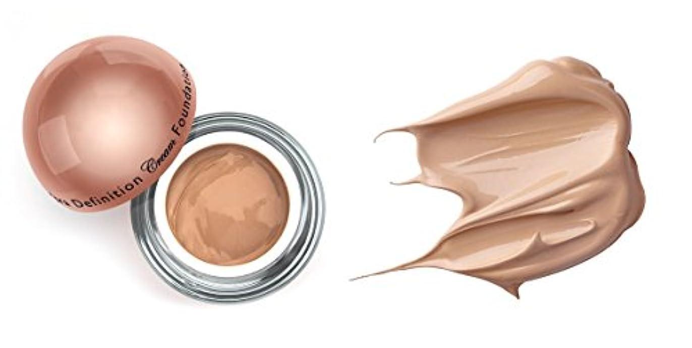 エンゲージメント対応虚弱LA Splash (無料なめらかな顔のシートマスク付き)LA-スプラッシュウルトラ定義されたクリームファンデーション 1オンス マカダミア/ 1オンス(20201)