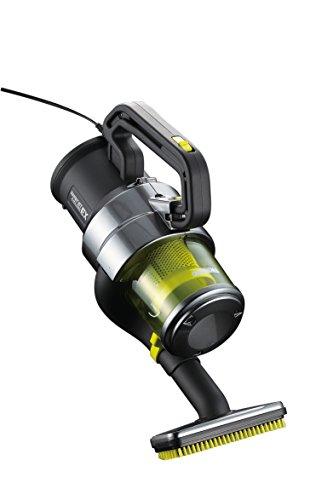 ツインバード:ハンディージェットサイクロンEX 掃除機 HC-E251GY