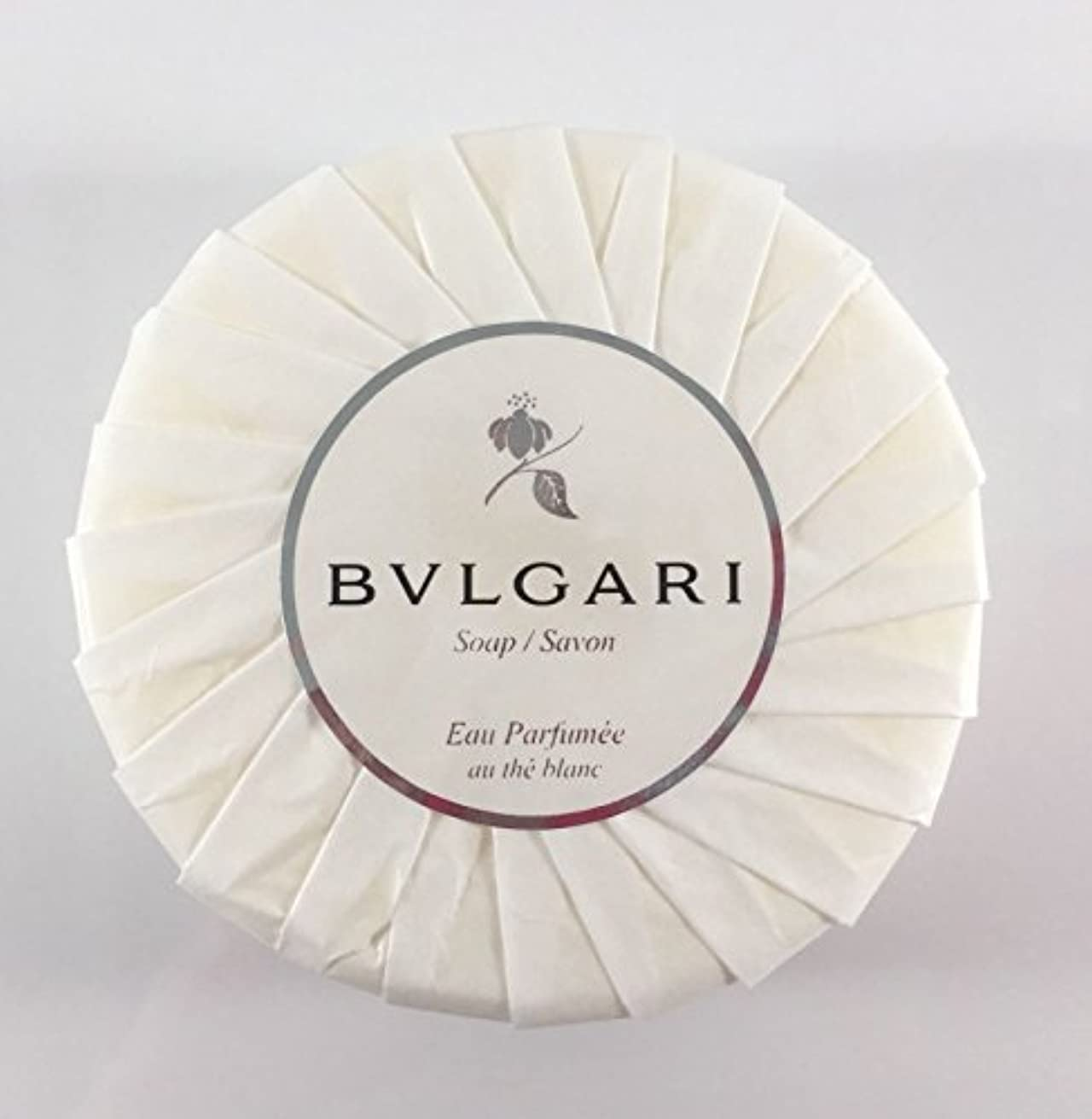 ブルガリ オ?パフメ オーテブラン デラックスソープ150g BVLGARI Bvlgari Eau Parfumee au the blanc White Soap