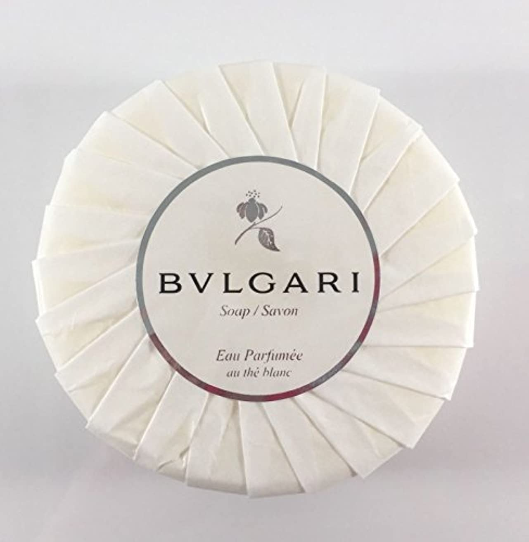 ブッシュ入浴ドキュメンタリーブルガリ オ?パフメ オーテブラン デラックスソープ150g BVLGARI Bvlgari Eau Parfumee au the blanc White Soap