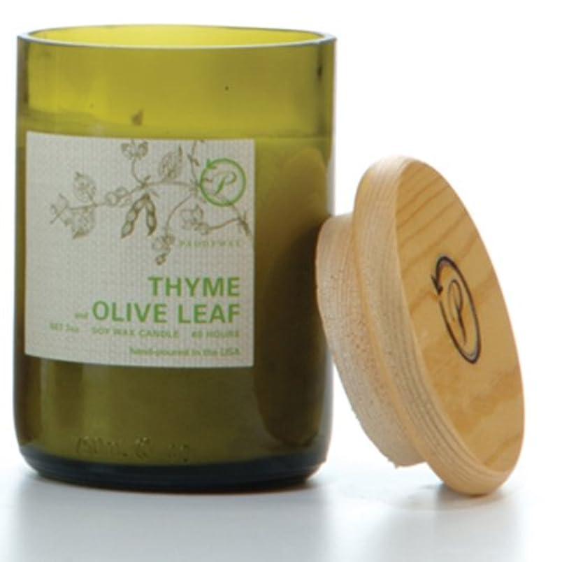 小競り合い原油買収PADDYWAX エコ グリーン キャンドル (THYME and OLIVE LEAF)