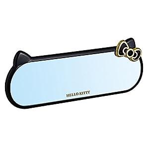 セイワ(SEIWA)ハローキティ B&Gルームミラーシルバー鏡/260mmサイズKT501 KT501
