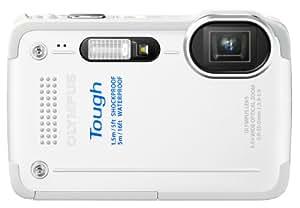 OLYMPUS デジタルカメラ STYLUS TG-630 1200万画素 裏面照射型CMOS 防水性能5m ホワイト TG-630 WHT