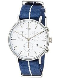 [タイメックス]TIMEX ウィークエンダーフェアフィールドクロノブルーナイロンストラップ41㎜【国内正規品】 TW2R27000 【正規輸入品】