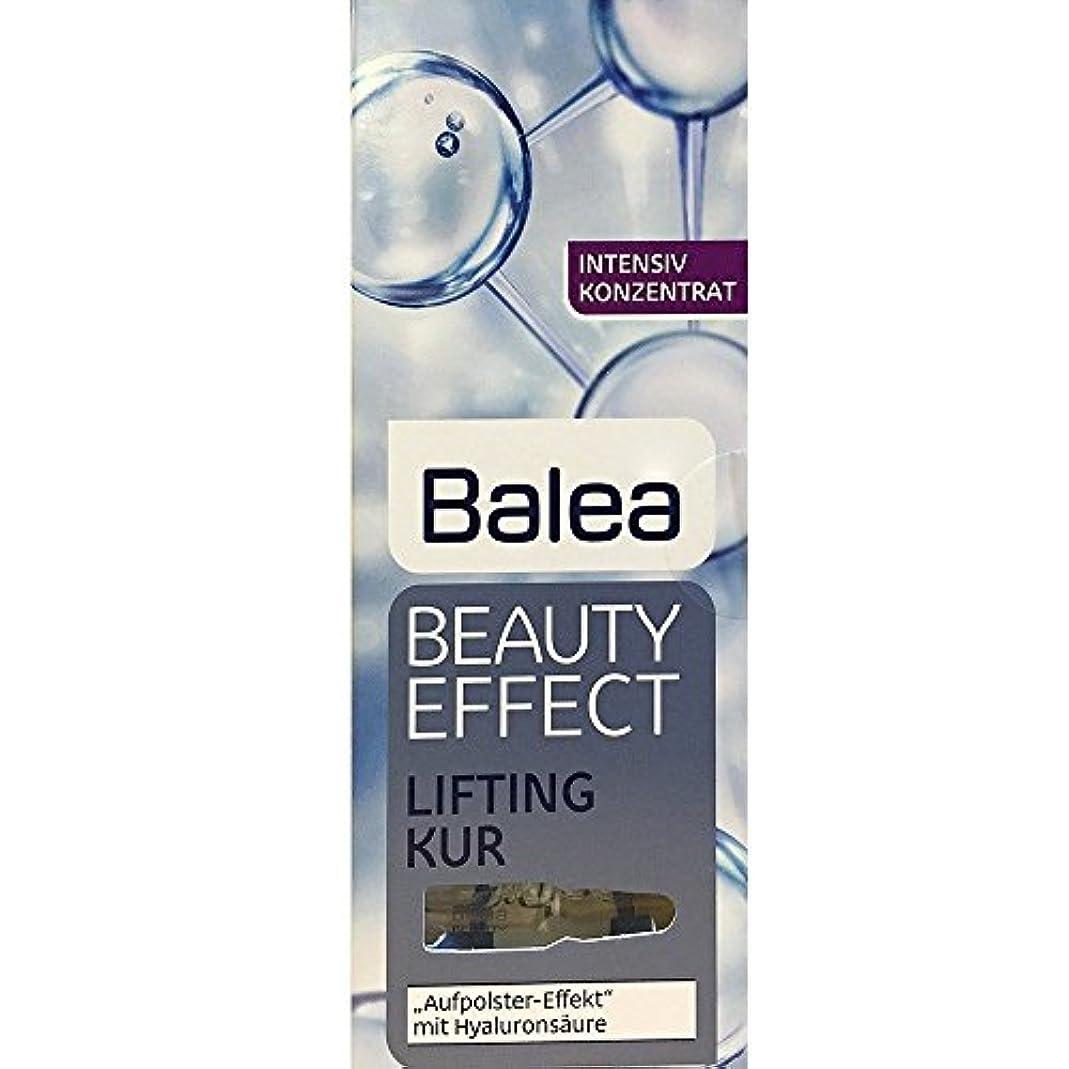 流行恐ろしいです安息Balea Beauty Effect Lifting Kur 7x1ml by Balea