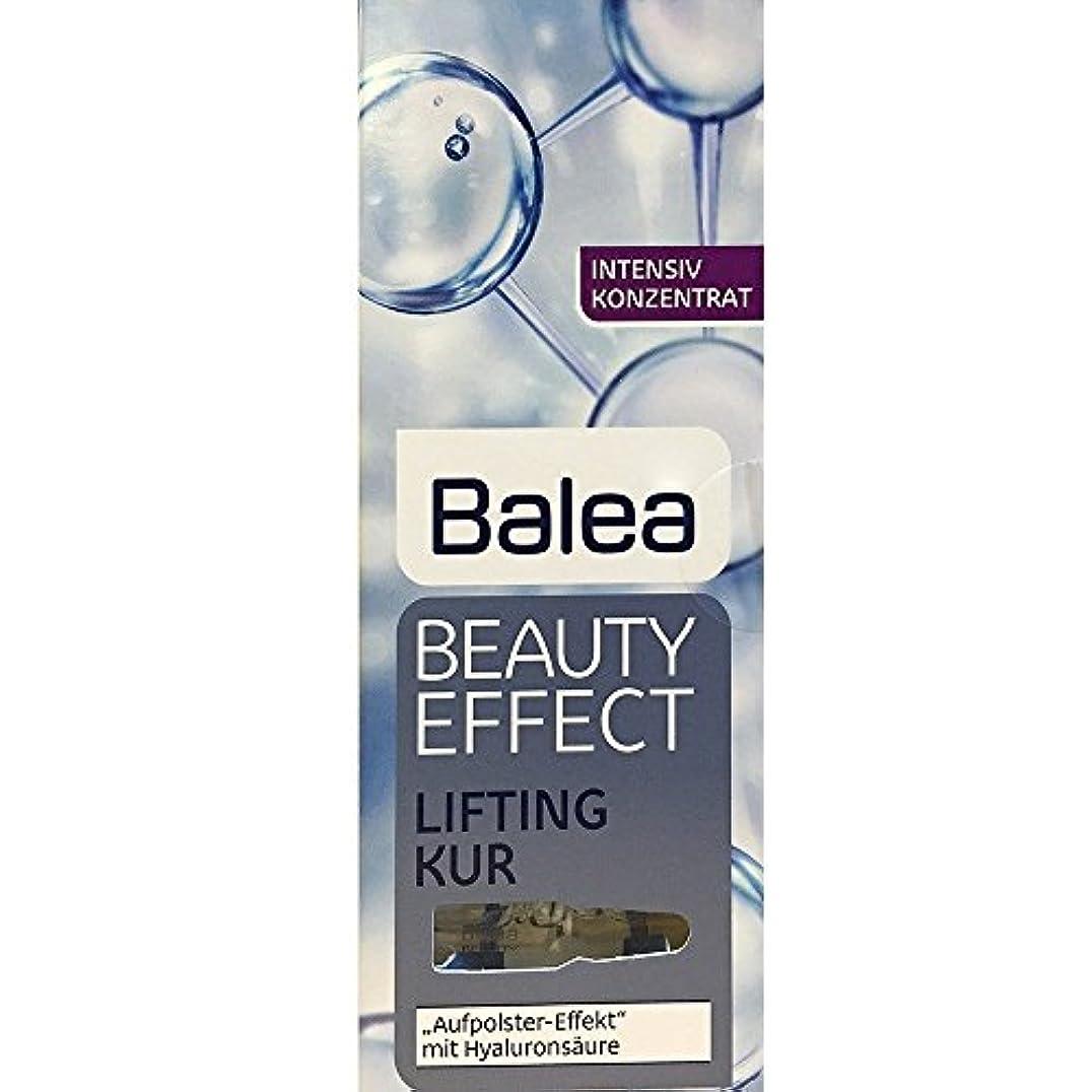 ハードウェア正気おもてなしBalea Beauty Effect Lifting Kur 7x1ml by Balea