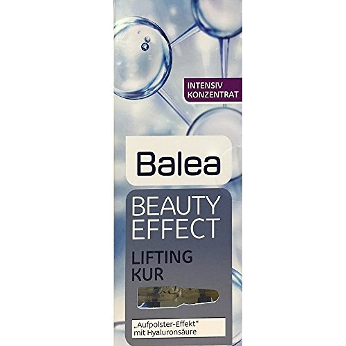 好意ピン紫のBalea Beauty Effect Lifting Kur 7x1ml by Balea