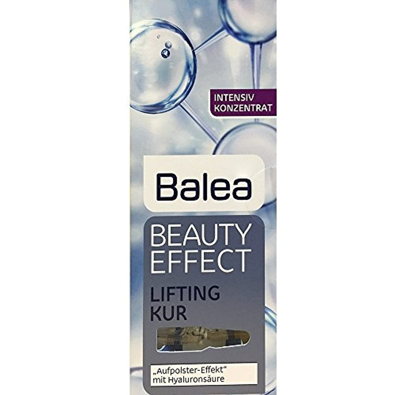 ヘビ男らしさ奨学金Balea Beauty Effect Lifting Kur 7x1ml by Balea