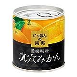 K&K国分 にっぽんの果実 愛媛県産 真穴みかん 190g×12個入
