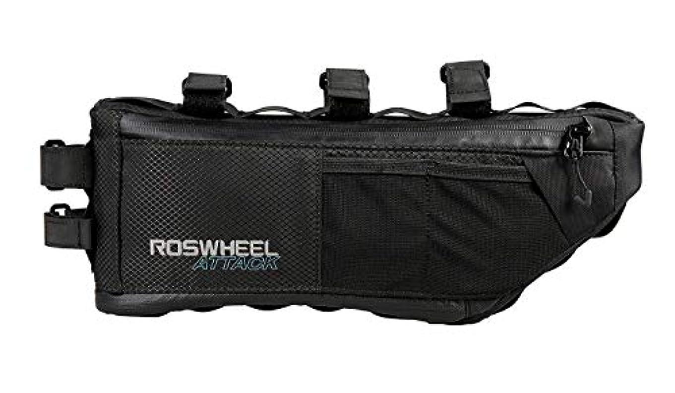マルクス主義者法律トラクターROSWHEEL トップチューブバッグ 自転車 簡単装着 フレームバッグ 小物収納 バッグ テールツール アンダーシートハンドルバーバッグ バイクトップチューブ サドルシートバッグ 防水