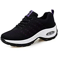 SKLT Women Sneakers Mesh Running Shoes Ladies Walking Dancing Sport Shoes Outdoor Air Cushion Breathable Footwear Lace