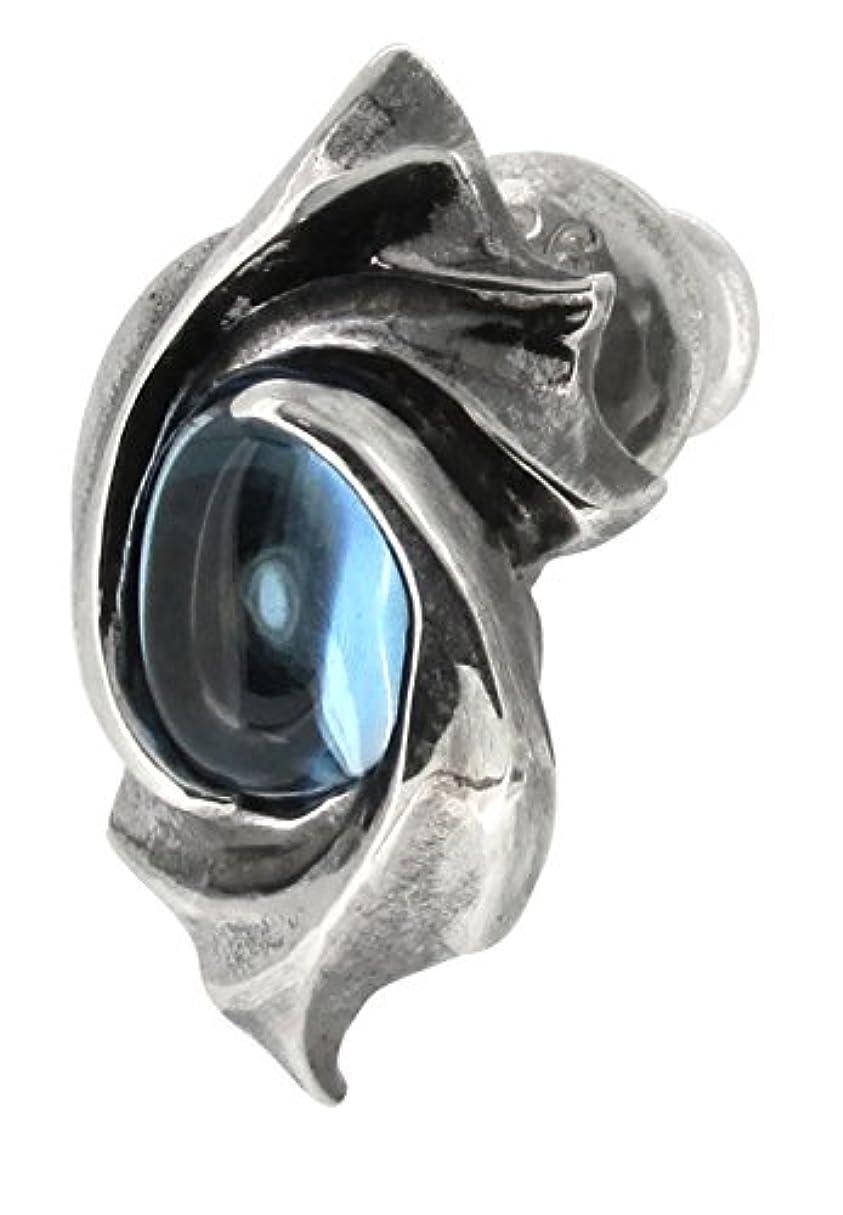 考案する略す奨励します[グラムスケイル]GLAM SCALE イヴォルバー シルバー 925 ピアス (1P 片耳用) 人気 ブランド メンズ シンプル アクセサリー デザイン