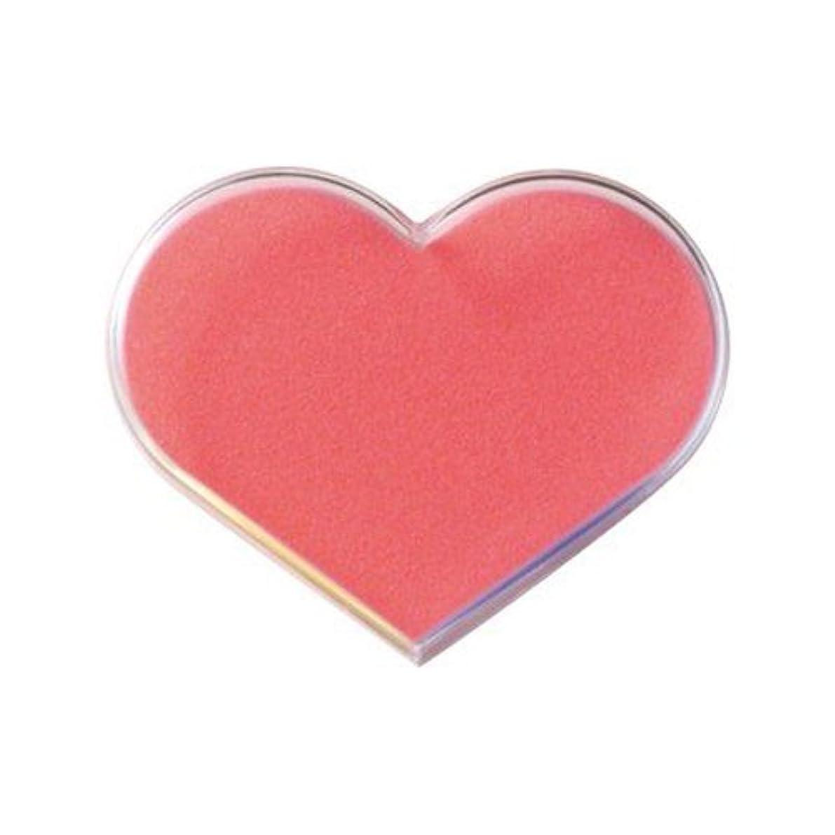 ニュージーランド演じる連想POSH ART ハートチップケース ピンク