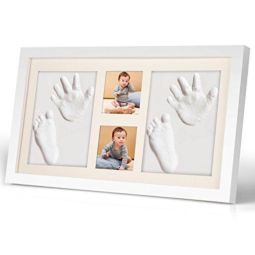 ベビーフレーム 手形 足形 手形足形 prome 赤ちゃん フォト フレーム ベビーフォトフレーム 手形フレーム ...