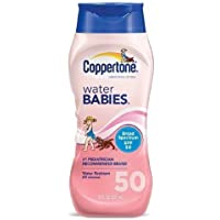 Coppertone Water Babies Sunscreen Lotion, SPF 50 8 fl oz (237 ml) by Coppertone