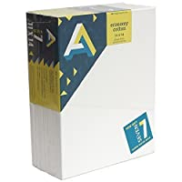 Art Alternatives stretched White Canvas Super Value Pack-11 x 14 inches-Pack of 7 [並行輸入品]