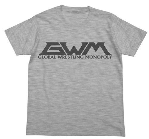タイガーマスクW GWM Tシャツ ヘザーグレー Lサイズの詳細を見る