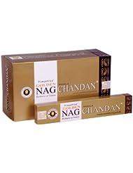Vijayshree Golden Nag chandn Incense Sticks 15 g x 12パック