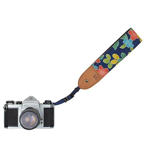 工房壱 着物 和柄 カメラハンドストラップ 一眼レフ ミラー...