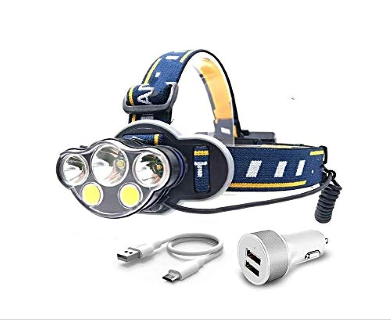 リースクラッシュ接辞ヘッドライトバラスト8 15,000モードLED懐中電灯 ヘッドライト