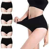 cassney Womens Underwear High Waist C Section Panties Womens Cotton High Waist Full Coverage Brief Panty