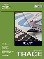 Pro Art 11-Inch by 14-Inch Tracing Paper Pad [並行輸入品]