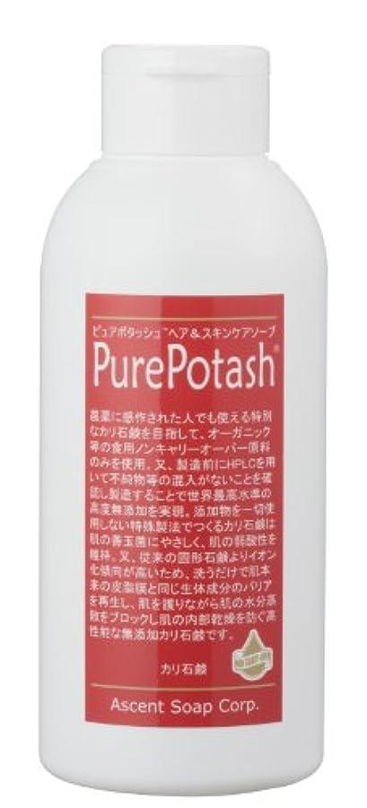 みがきますアスペクト先入観食用の無農薬油脂使用 ピュアポタッシュヘア&スキンケアソープ(しっとりタイプ)250g 3本セット