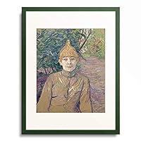 アンリ・ド・トゥールーズ=ロートレック Henri Marie Raymond de Toulouse-Lautrec-Monfa 「The Streetwalker, ca. 1890-1891.」 額装アート作品