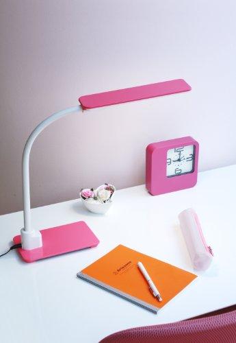 コイズミ LEDスタンドライト ピンク 直送品