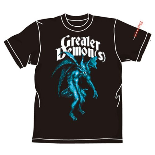 Wizardry グレーターデーモンTシャツ ブラック サイズ:XL