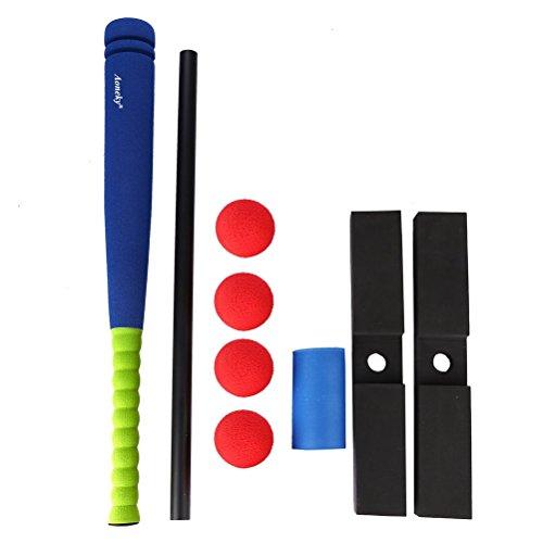 (アワンキー) Aoneky バッティングティー ティーボールセット スポンジ製野球バット 子供用 おもちゃ 安全安心