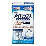 株式会社 明治 明治 メイバランスArg Mini ミルク味 125ml x 24本