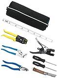 ホーザン(HOZAN) 電気工事士技能試験セット  電気工事士技能試験を受験するための基本工具+VVFストリッパーのセット  S-16