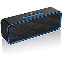 ZoeeTree S1 Bluetooth スピーカー ワイヤレス ポータブル ブルートゥース スピーカー 18ヶ月品質保証 高音質 低音強化 マイク内蔵 Micro SDカード