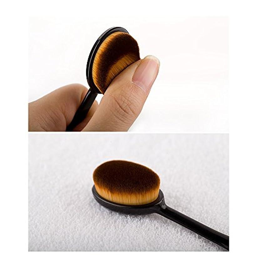 石の普遍的な乳製品メイクアップブラシ スライド ファンデーションブラシ チークブラシ 歯ブラシ型 フェイスブラシ プロ用ブラシ 一本